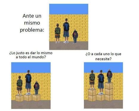 Equidad vs Igualdad | Madres de Día Pamplona | Scoop.it