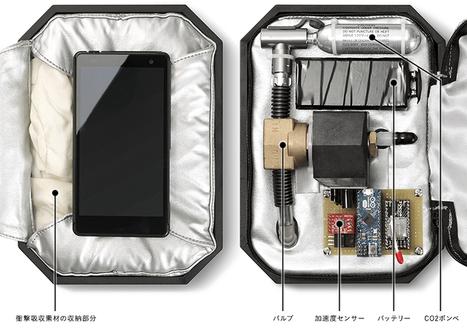 Arriva l'airbag per smartphone, ma prima dovete sapere che... | Beezer | guide | Scoop.it