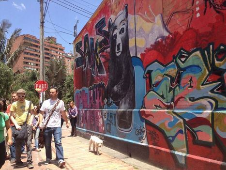 Here's what happened when Bogota decided to let graffiti artists do their thing - Street I Am | Street Art Planet | Scoop.it