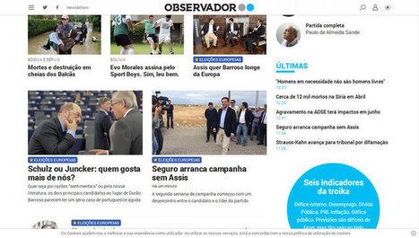 Novo jornal online Observador faz a sua estreia em Portugal - Jornalistas da Web | CoMuNiC@ÇãO | Scoop.it