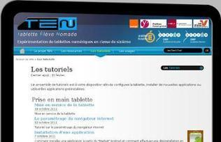 Le projet TEN (Tablette Elève Nomade)- Educavox | dixmois | Scoop.it