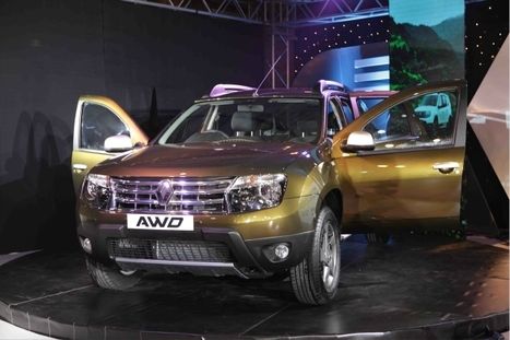 Renault Duster AWD: Five things you must know about the latest compact SUV | Cars in India 2014 | Scoop.it