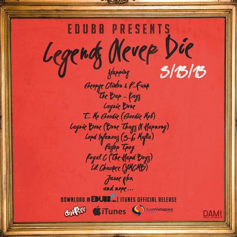 EDUBB - LEGENDS NEVER DIE - ALBUM TRAILER @EDUBBlive | EDUBB | Scoop.it