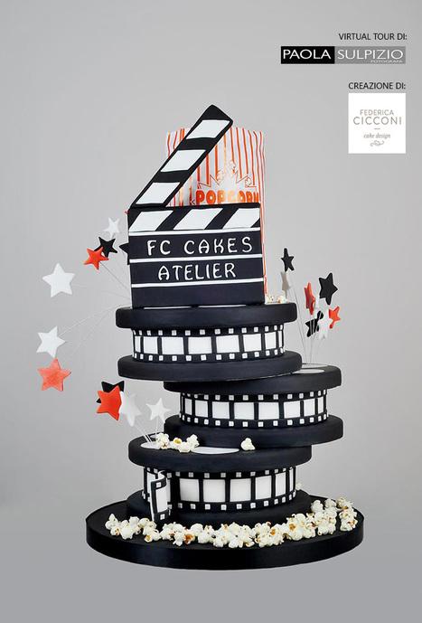 Federica Cicconi Cake Design mostra una delle sue creazioni a 360°   Fotografia news   Scoop.it