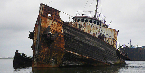 The Secret NYC Graveyard Where Ships Go to Die   Autopia   WIRED   Strange days indeed...   Scoop.it