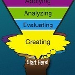 Flipping Bloom's Taxonomy | innovatief onderwijs | Scoop.it