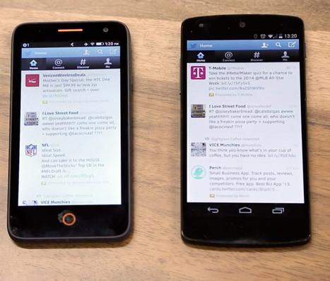 Les applications Firefox OS désormais compatibles avec Android - Frandroid | netnavig | Scoop.it