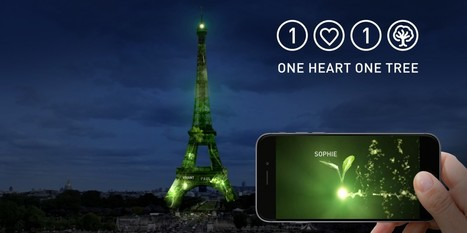 1 Heart 1 Tree | Plant virtual forests on the EIFFEL TOWER and reforest the planet! Des forêts virtuelles sur la TOUR EIFFEL pour reforester la planète! | SandyPims | Scoop.it