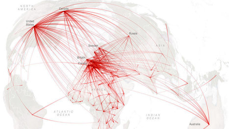 The Flight of Refugees Around the Globe | People and Development | Scoop.it