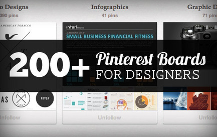200+ Pinterest Boards for Designers to Follow | Design Shack | Pinterest | Scoop.it