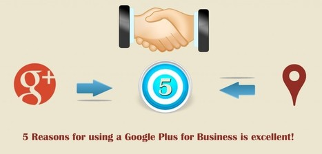 5 Reasons for using a Google Plus for Business is excellent! | Website Design | Scoop.it