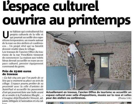 L'espace culturel ouvrira au printemps   Municipales 2014   Scoop.it