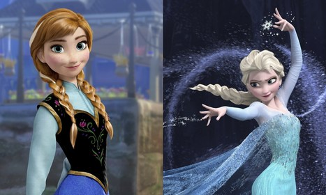 Frozen in time: when will Disney's heroines reflect real body shapes? | Year 13 Media Studies | Scoop.it