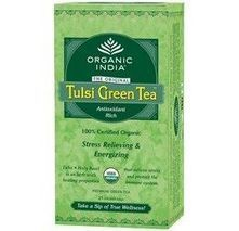Tulsi Green Tea Bag from Organic India Online | Fortis Healthworld | Play Schoo and Day Boarding | Scoop.it