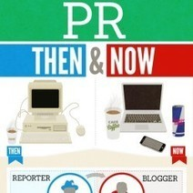 PR Then & Now [Infographic] | Social Media e Innovación Tecnológica | Scoop.it