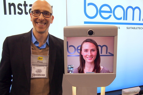 Beam Remote Sends Your Head Anywhere in the World | Tomorrow at Work | Scoop.it