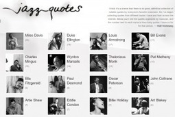 Get Your Jazz Quotes in a New WebSite   Public Relations & Social Media Insight   Scoop.it