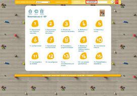 Actividades digitales. Matemáticas 6º Educación Primaria. Editorial SM | Preparación de actividades dinámicas | Scoop.it