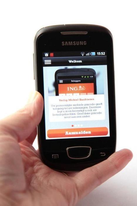 Le smartphone, une banque en ligne   Social and Mobile experience   Scoop.it