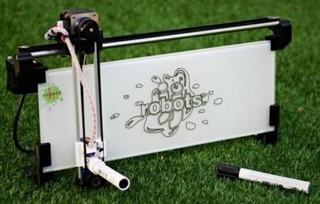 iBoardbot, una pizarra que dibuja lo que le mandamos por el móvil | Educacion, ecologia y TIC | Scoop.it