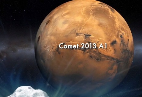 Watch This: Comet May Be Headed For Impact with Mars   Skylarkers   Scoop.it