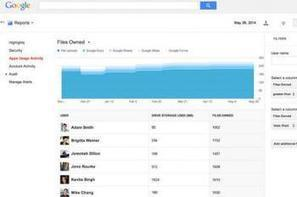 Google Apps : nouvelles statistiques d'usage pour les administrateurs | Actua web marketing | Scoop.it