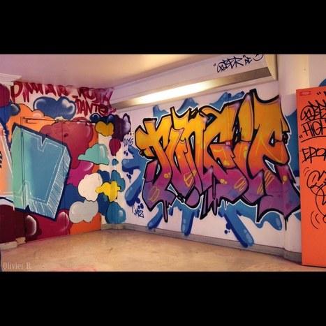 REHAB – Exposition Éphémère de Graffiti #1 | Paris Tonkar magazine | Scoop.it