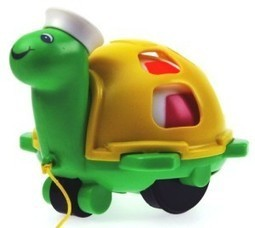 Buy Funskool 9713500 Funskool Preschool Twirly Whirly Pull along Turtle | Discounts India | Scoop.it