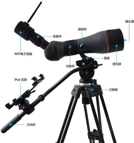 Ostec Wi-Fi Telescopes, Wi-Fi and USB Portable Microscopes for iOS, Android, and PCs | Embedded Systems News | Scoop.it