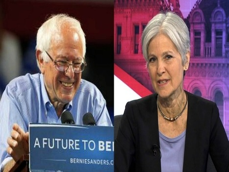 Why Bernie Sanders Might Accept Jill Stein Offer To Run On a Green Party Ticket in November - USA SUPREME | Global politics | Scoop.it