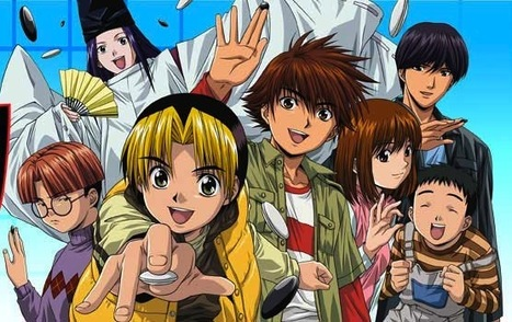 Hikaru no Go - Cartoon about the game Go - available on Netflix, iTunes, Hulu | Go, Baduk, Weiqi ~ Board Game | Scoop.it