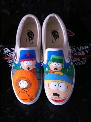 Blog - Top Cartoon Series Vans Custom South Park Shoes Low   Comic Nike Dunks   Scoop.it