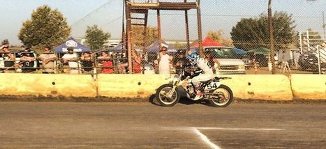 Mikey Rush at practice. | California Flat Track Association (CFTA) | Scoop.it
