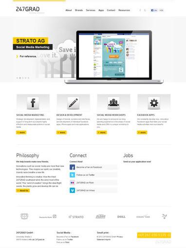 25 Simple Yet Graceful Website Designs Inspire   Design Revolution   Scoop.it