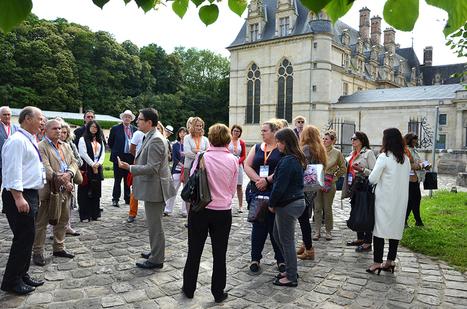 """L'OT de Roissy célèbre le Château d'Ecouen lors de son Eductour   Office de Tourisme """"Roissy, Clé de France""""   Scoop.it"""