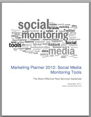 White Paper: Top Social Media Monitoring Tools of 2012 | Social & Web Analytics | Scoop.it