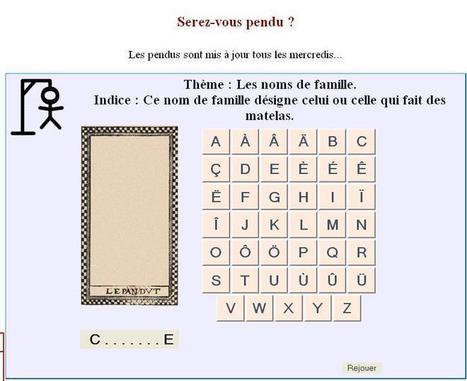 La Gazette Web : les jeux   CGMA Généalogie   Scoop.it
