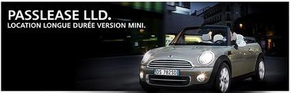 Passlease LOA Mini voiture BMW Financement LDD auto www.mini.fr | Mon Compte | Scoop.it