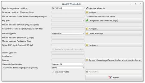 JSignPdf – Un outil sympa pour protéger vos documents PDF sous GNU/Linux, Windows et Mac OS X | L'actualité du numérique pour les TPE | Scoop.it