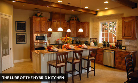 The Lure of the Hybrid Kitchen | Kitchen Solvers Franchise | Home Improvement Franchise | Scoop.it