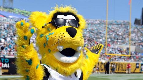 Jaguars fan, mascot enter stadium via zip-lines during halftime - SB Nation | Mascots in the news | Scoop.it