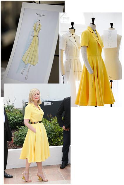 Cannes 2016 : la robe Dior de Kirsten Dunst en 4 étapes de fabrication | Infos Mode, Beauté , VIP, ragots, buzz ... | Scoop.it