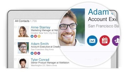 LinkedIn Launches New Contacts Tool to Make Relationship Management Easier | We're in Business | Scoop.it