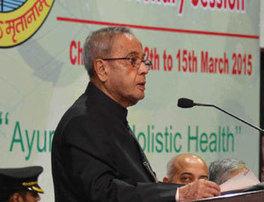"India: President Pranab Mukherjee says: ""Demystify and popularise Ayurvedic medicine"" | Health Supreme | Scoop.it"