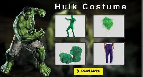 The Complete Hulk Costume Guide For Halloween | celebrities Leather Jackets | Scoop.it