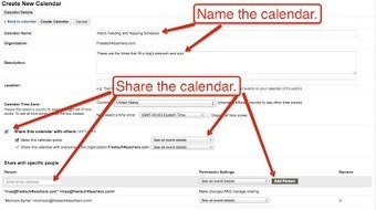 A Short Guide to Creating and Sharing Google Calendars | Time to Learn | Scoop.it