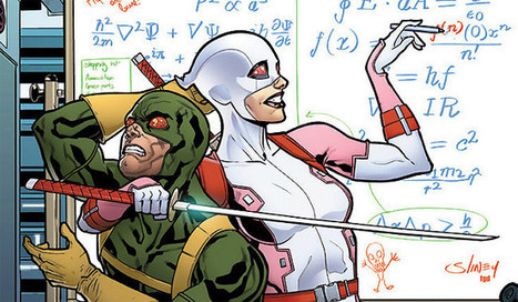 Marvel Encourages Young Scientists With A Series Of STEM-Themed Covers | STEM Connections | Scoop.it
