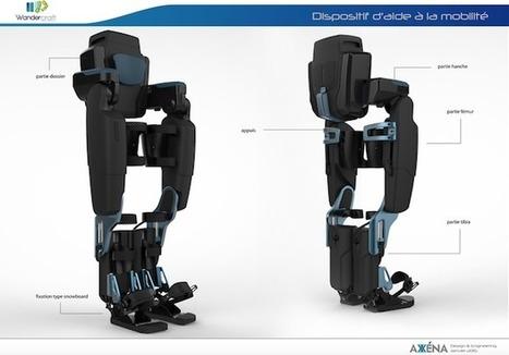 #MedTech : Wandercraft et son exosquelette franchissent un pas avec une levée de 4 millions d'euros | Une nouvelle civilisation de Robots | Scoop.it