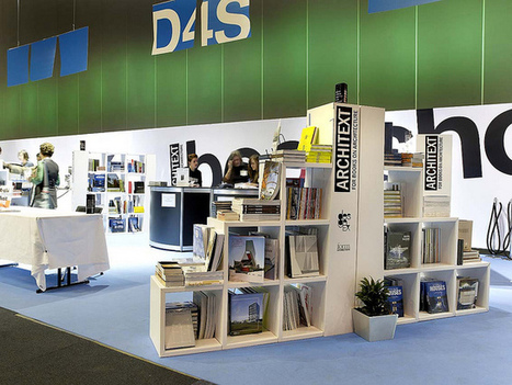X-Board Paper Composite Bookshelves | exhibition display | Scoop.it