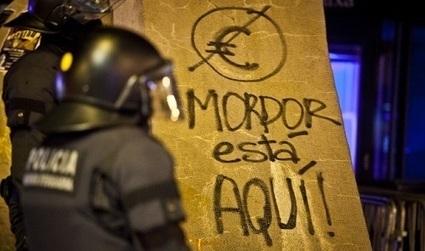 'Occupy Mordor' in Spain: the finger in Sauron's eye | Reflections on a Revolution ROAR | #Spanishrevolution | Scoop.it
